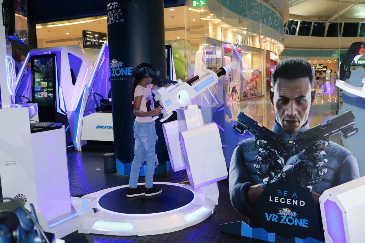 في عيد الفطر.. مجموعة الحكير تطلق منطقة الواقع الافتراضي في مشرف مول – أبو ظبي