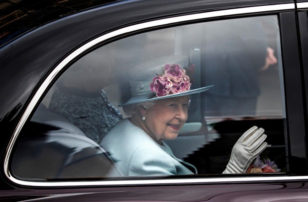 Britain's Queen Elizabeth II attends the Sunday Church service at Canongate Kirk in Edinburgh on June 30, 2019. (Photo by Jane Barlow / POOL / AFP)
