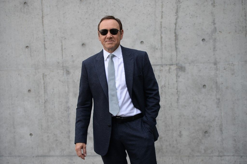 "(FILES) In this file photo taken on June 21, 2016 US actor Kevin Spacey arrives at a fashion show in Milan, Italy. - Prosecutors dropped sexual assault proceedings against Spacey on July 17, 2019, after the case against the Hollywood star collapsed over his alleged victim's refusal to testify. William Little had accused the 59-year-old actor of groping him in a bar on the resort island of Nantucket in July 2016. But Massachusetts prosecutors filed a formal notice of abandonment of indecent assault and battery charges due to ""the unavailability of the complaining witness,"" who had declined to give evidence due to fear of self-incrimination. (Photo by Filippo MONTEFORTE / AFP)"