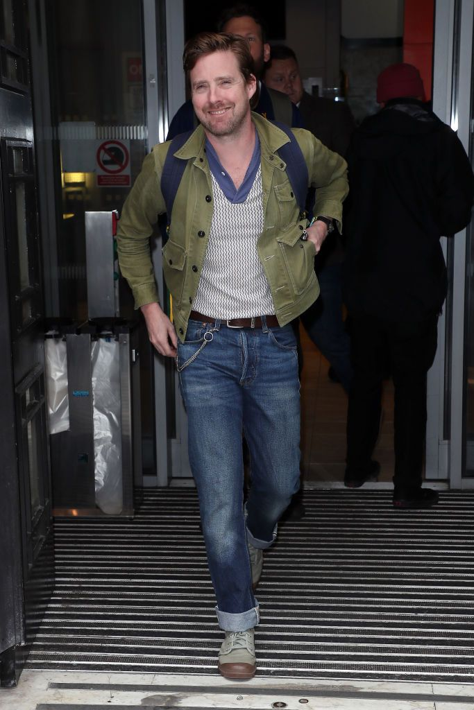LONDON, ENGLAND - JULY 19: Ricky Wilson seen leaving BBC Radio 2 on July 19, 2019 in London, England. (Photo by Neil Mockford/GC Images)