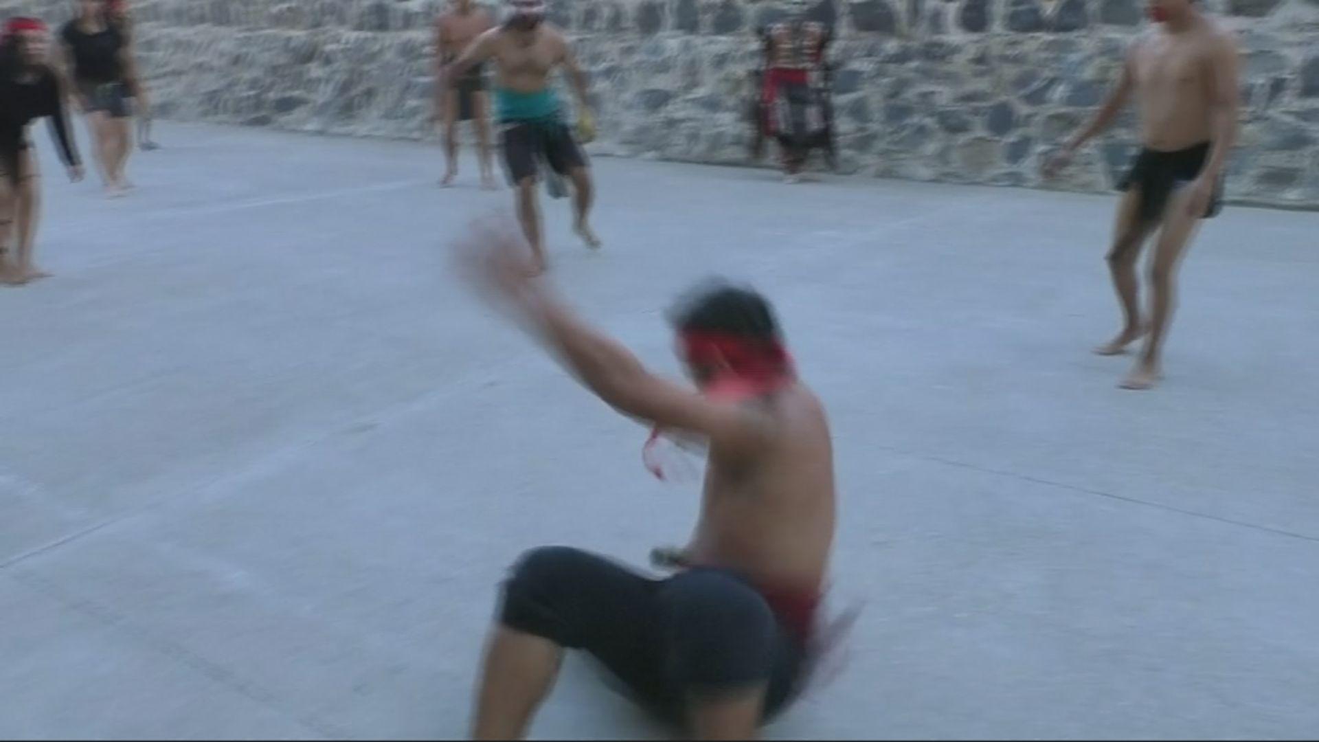 المكسيك تعيد إحياء لعبة تقليدية قديمة