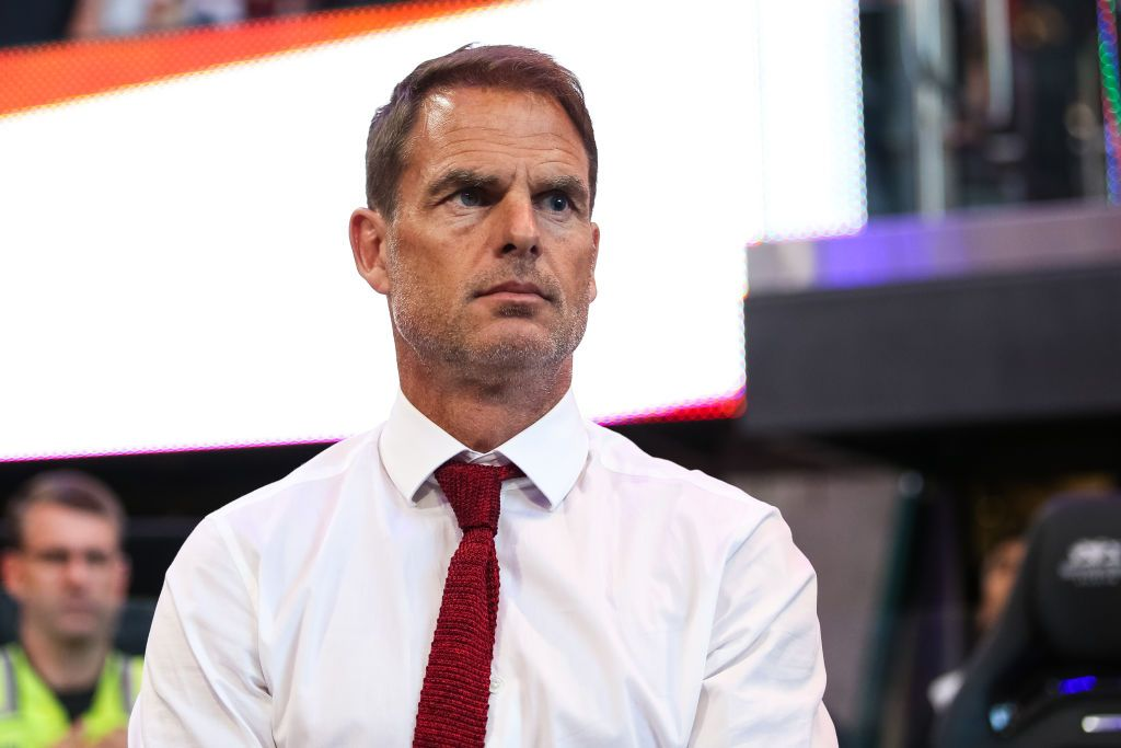 ATLANTA, GA - MAY 29: Frank de Boer, head coach of Atlanta United looks on during the game between Atlanta United and Minnesota United FC at Mercedes-Benz Stadium on May 29, 2019 in Atlanta, Georgia. (Photo by Carmen Mandato/Getty Images)